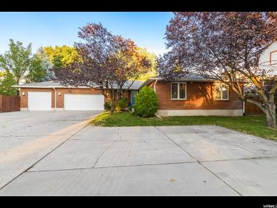 Salt Lake County Single Family Home For Sale: 3545 S 2300 E