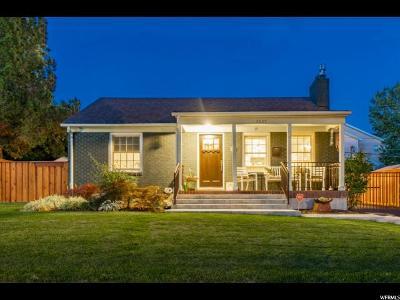 Salt Lake County Single Family Home For Sale: 2007 S 2200 E