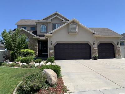West Jordan Single Family Home For Sale: 8281 S Boulder Creek Rd W
