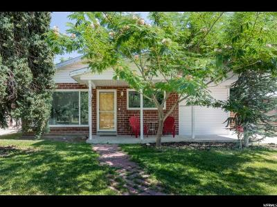 Salt Lake County Single Family Home Under Contract: 1300 N Catherine St W
