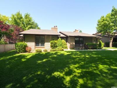 Salt Lake City Condo For Sale: 1568 E 6470 S