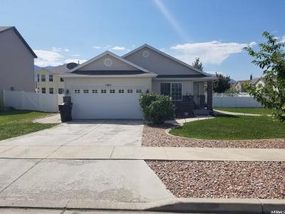 Spanish Fork Single Family Home For Sale: 1165 W 350 S