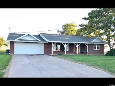 Fillmore Single Family Home Under Contract: 550 E Canyon Rd