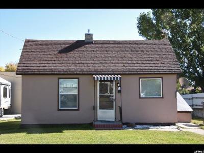 Preston Single Family Home For Sale: 53 S 4th W