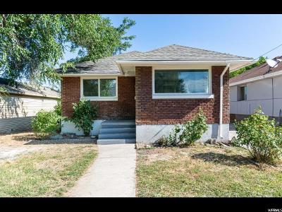 Ogden Single Family Home For Sale: 308 34th St