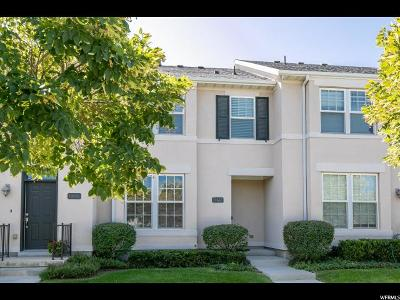 South Jordan Townhouse For Sale: 10652 S Cave Run Ln