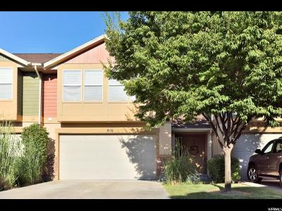 Davis County Townhouse For Sale: 816 N Spring Pond Dr W