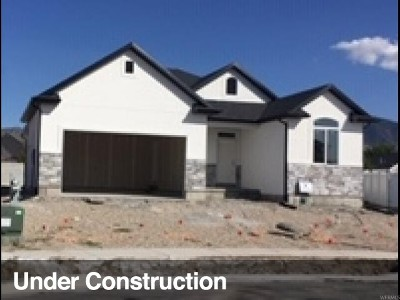 Tooele County Single Family Home For Sale: 1866 N 425 W #117