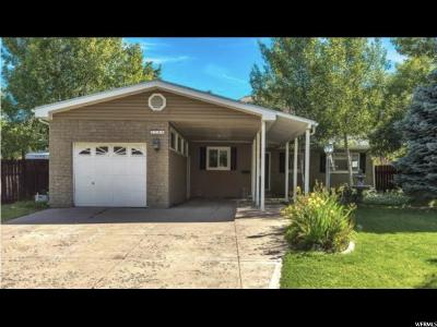 Salt Lake City Single Family Home Under Contract: 2781 E Wilshire Dr