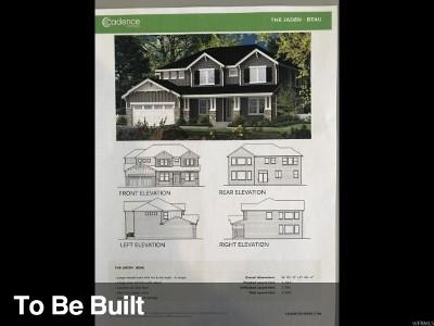 Lehi Single Family Home For Sale: 2589 N 300 E #101