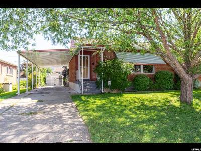 Washington Terrace UT Single Family Home For Sale: $219,000