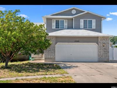 Layton Single Family Home For Sale: 1489 N 2475 W
