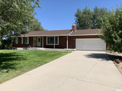 Goshen Single Family Home For Sale: 201 S 100 E