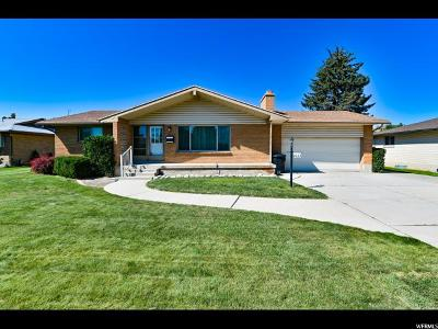 Salt Lake County Single Family Home For Sale: 2032 W Bowling Ave S