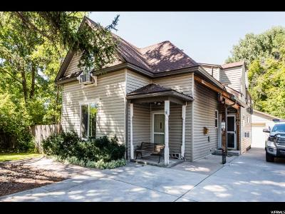 Logan Single Family Home Under Contract: 47 N 500 E