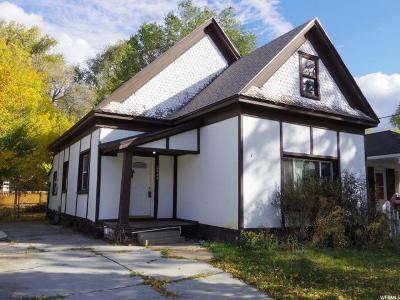 Weber County Single Family Home For Sale: 2040 Jefferson Ave