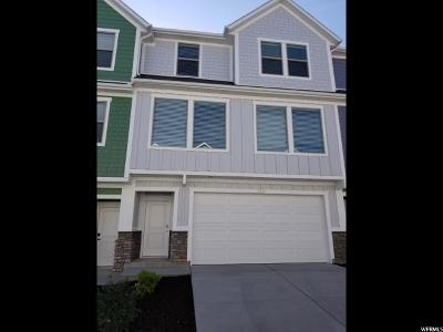 Layton Townhouse For Sale: 2523 N Knights Ln