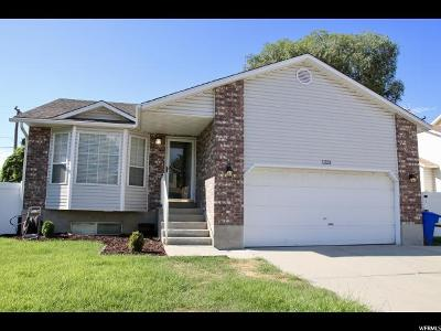 West Jordan Single Family Home For Sale: 1223 W Wimbledon Ln