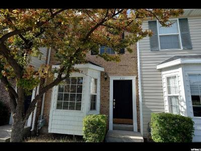 Providence Single Family Home Under Contract: 331 W 280 N