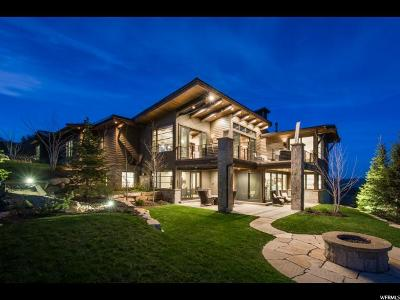 Park City Single Family Home For Sale: 8814 Parley's Ln #33