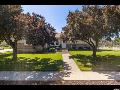 South Weber Single Family Home Under Contract: 2397 E 7925 S