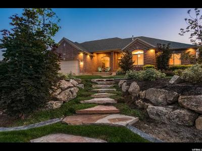 Bluffdale Single Family Home For Sale: 14812 S Castle Valley Dr