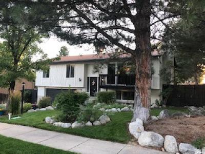 Sandy Single Family Home For Sale: 9848 S Wimbleton Dr E