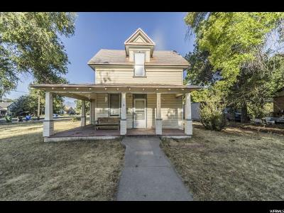 Logan Single Family Home Under Contract: 191 S 400 W