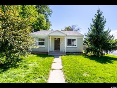 Salt Lake City Single Family Home For Sale: 204 E Truman Ave