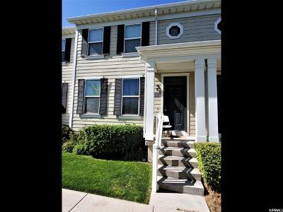 South Jordan Townhouse For Sale: 4538 W 11800 S