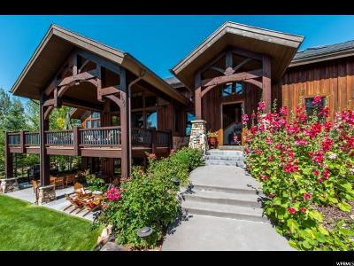 Park City Single Family Home For Sale: 5825 Mountain Ranch Dr