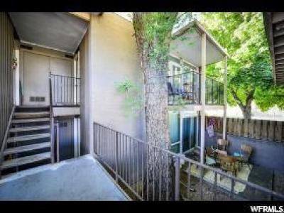 Salt Lake City Condo For Sale: 4408 S Rosehaven Ct W #B
