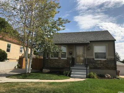Salt Lake City Single Family Home For Sale: 946 E Lowell Ave S