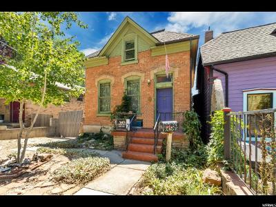 Salt Lake City Single Family Home For Sale: 233 W Reed Ave