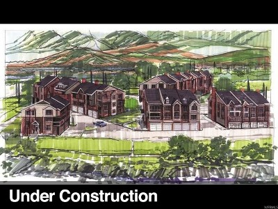 Provo Townhouse Under Contract: 5179 N River Park Way W #13