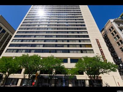 Salt Lake City Condo For Sale: 48 W Broadway S #302N
