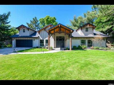 Holladay Single Family Home For Sale: 1849 E Cottonwood Club Cir S