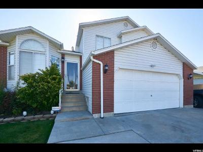 Salt Lake City Single Family Home For Sale: 3781 S 3760 W