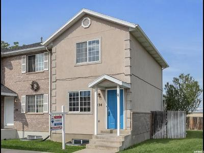 Provo, Orem Townhouse For Sale: 134 W 930 N