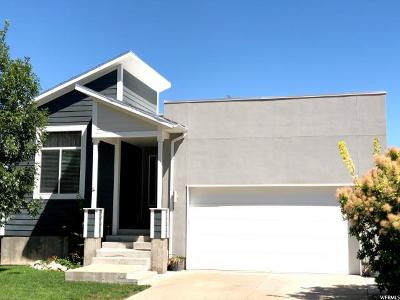Salt Lake City Single Family Home For Sale: 3547 S Solaris Way
