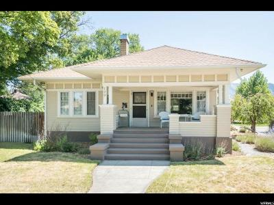 Logan Single Family Home Under Contract: 120 S 300 W