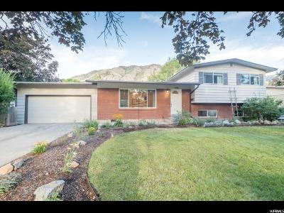 Logan Single Family Home Under Contract: 1446 N 1640 E
