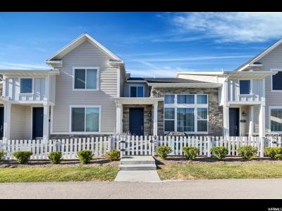 Bluffdale Townhouse For Sale: 1051 W Painted Horse Ln