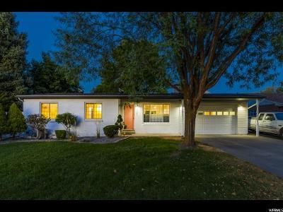 Single Family Home For Sale: 3781 S 1215 E