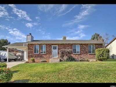 Single Family Home For Sale: 1234 W 975 S