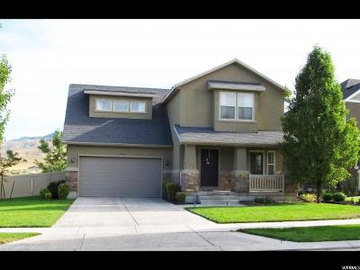 Utah County Single Family Home For Sale: 4582 E Silver Creek Way N