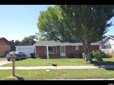 Clinton UT Single Family Home For Sale: $218,000