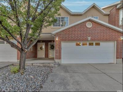 South Jordan Townhouse For Sale: 3876 W Sage Willow Dr