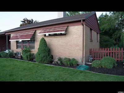 Washington Terrace UT Single Family Home For Sale: $238,500
