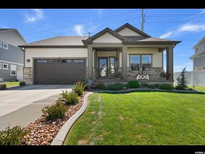 Spanish Fork Single Family Home Backup: 859 N Plainsman Dr